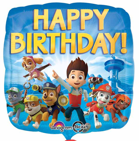 Paw Patrol Birthday Foil balloon