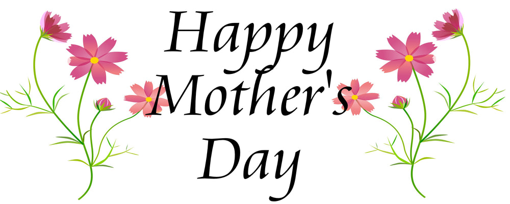 floral happy mothers day custom banner