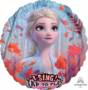 "Frozen 2 foil 28"" Singing Balloon"
