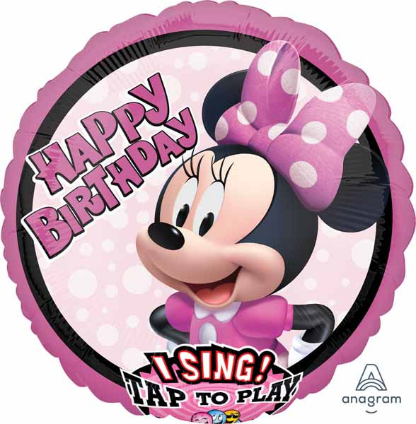 Minnie Mouse Birthday Singing 28