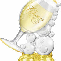 "Wine glass 51"" airloonz decoration"