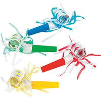 assorted colour fringe blowouts, 1 per package
