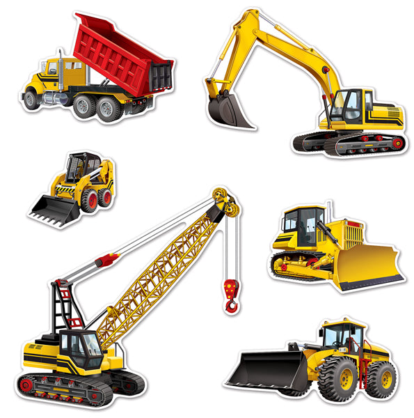 Construction equipment Cutouts