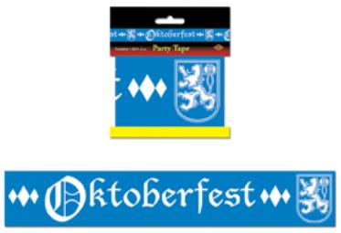 oktoberfest party tape measures 3 inches by 20 feet