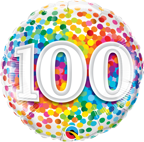 100th Rainbow Confetti 18
