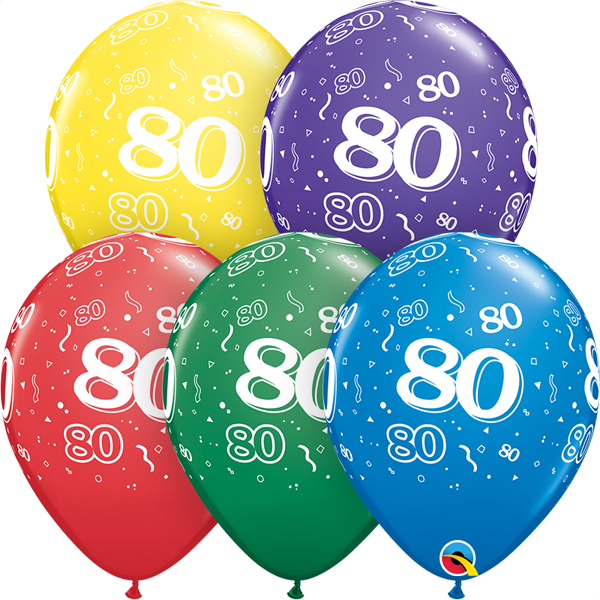 80 printed balloon