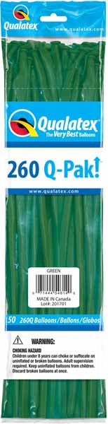 green 260q, 50 count