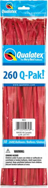 red 260q, 50 count