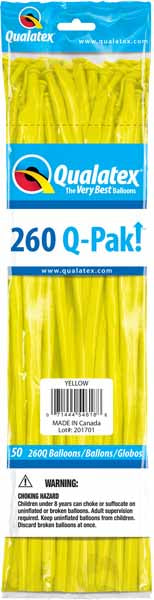 yellow 260q, 50 count