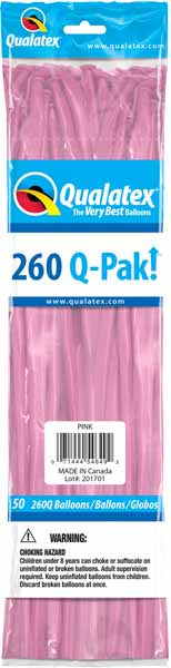 pink 260q, 50 count