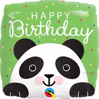 Panda Birthday Foil Balloon