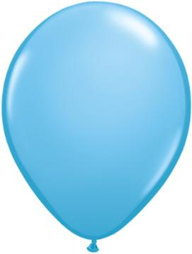 pale blue Qualatex 11inch Balloons ,10 per package, empty
