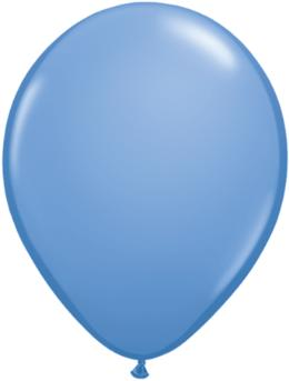 periwinkle Qualatex 11inch Balloons ,10 per package, empty