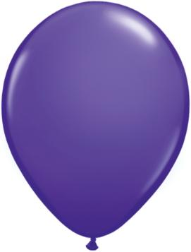 purple violet Qualatex 11inch Balloons ,10 per package, empty