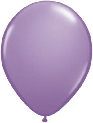 spring lilac Qualatex 11inch Balloons ,10 per package, empty