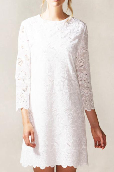 Shift Lace Dress