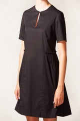 Side Shirring Dress