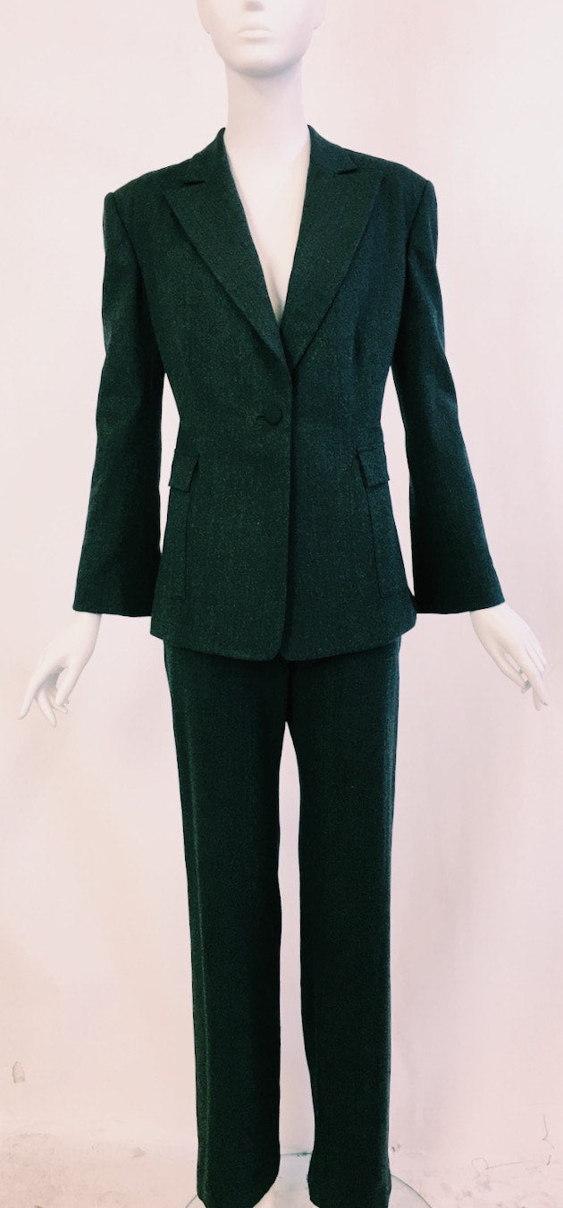 Peak Lapel Jacket with Patch Pockets