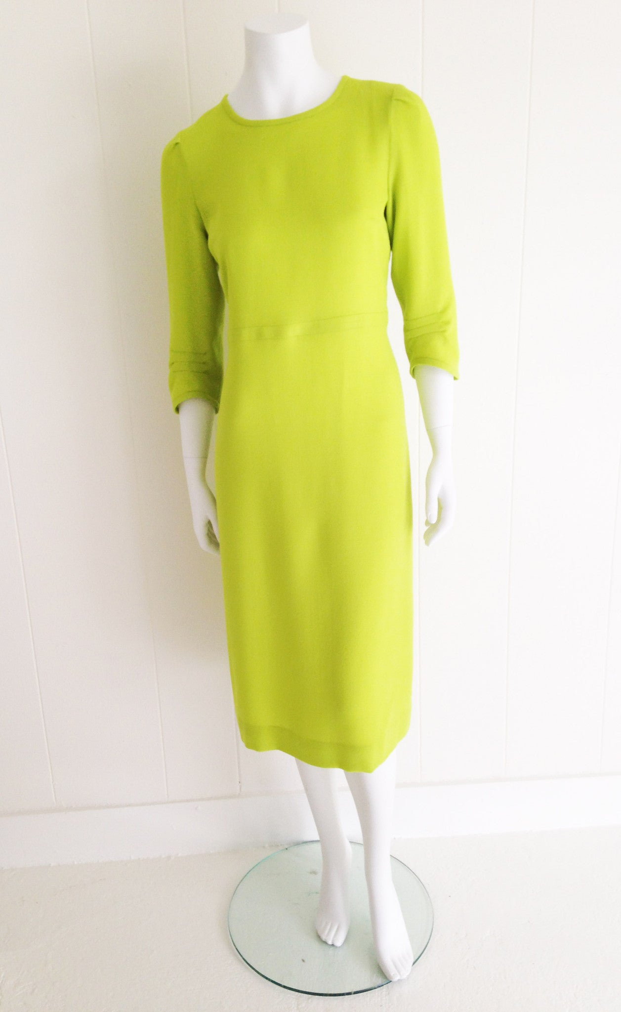 Vintage Empire Dress with Handstitch Detail
