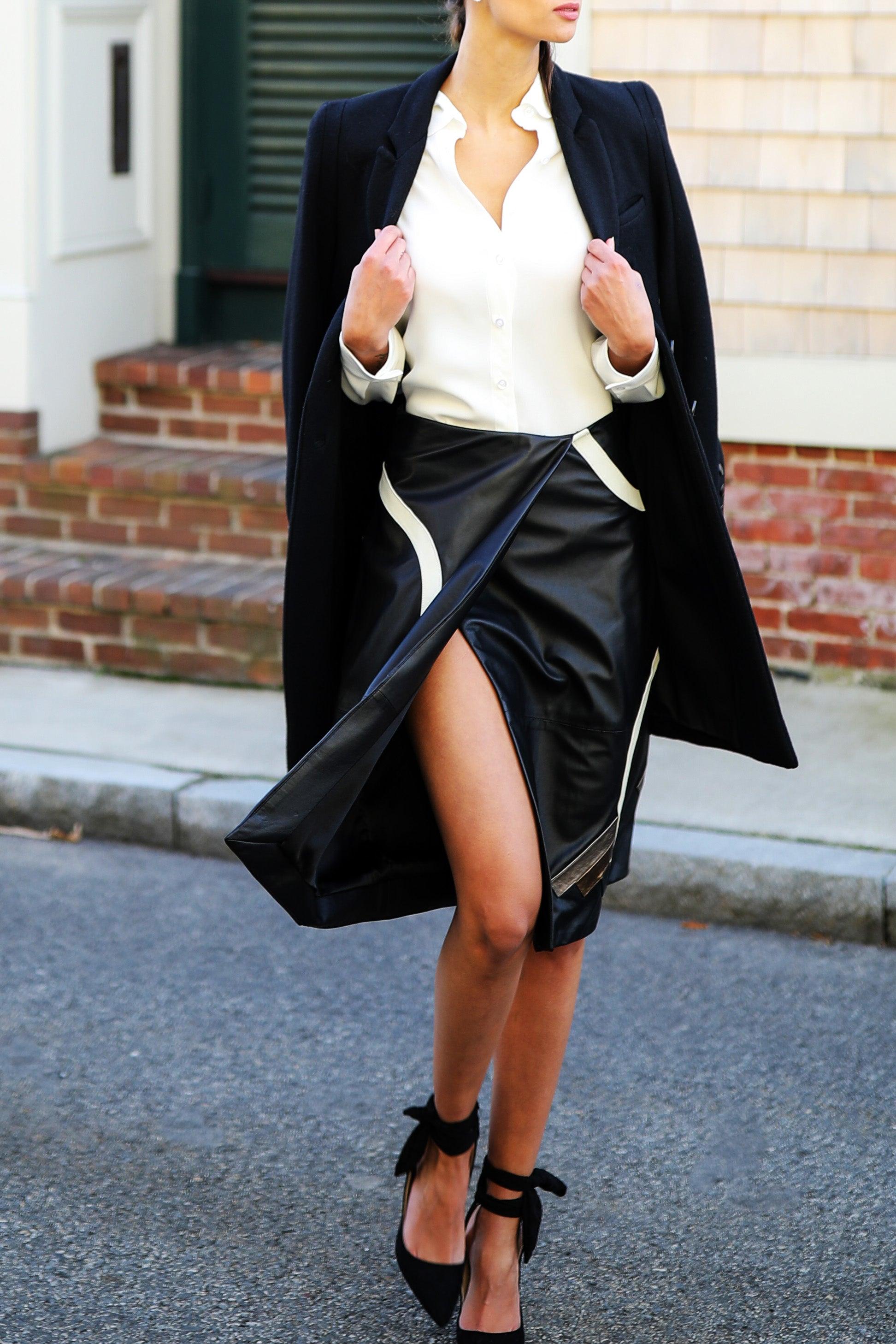 Leather Deco Skirt