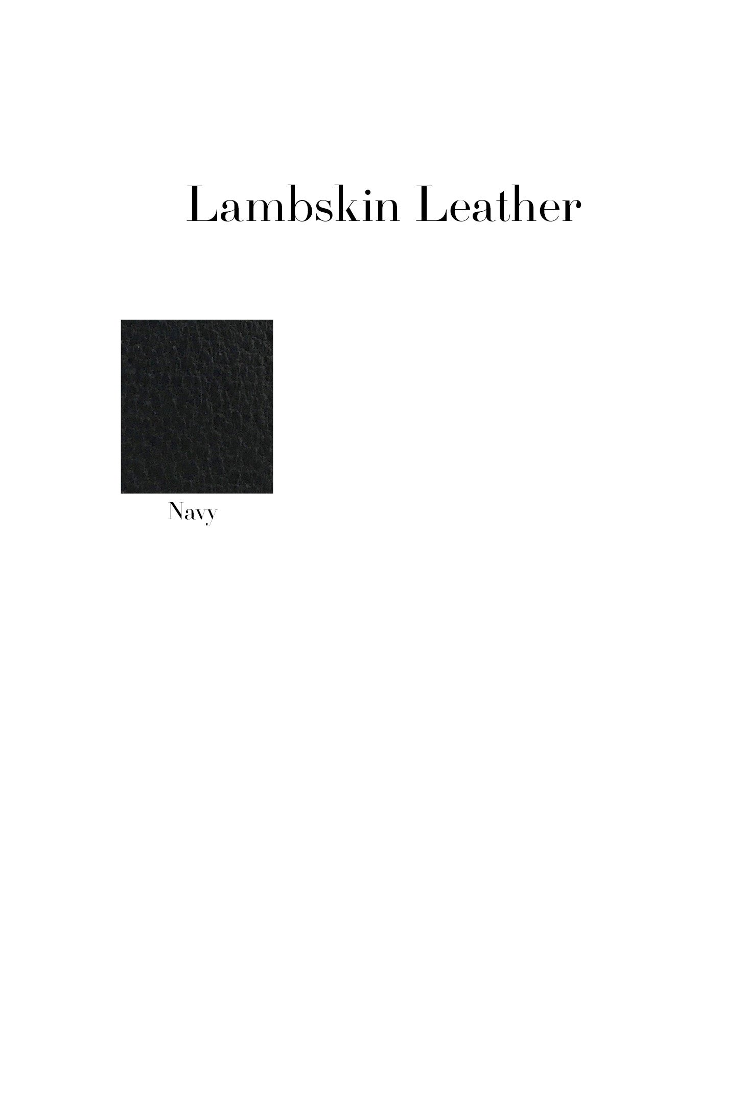Release Pleat Leather Skirt
