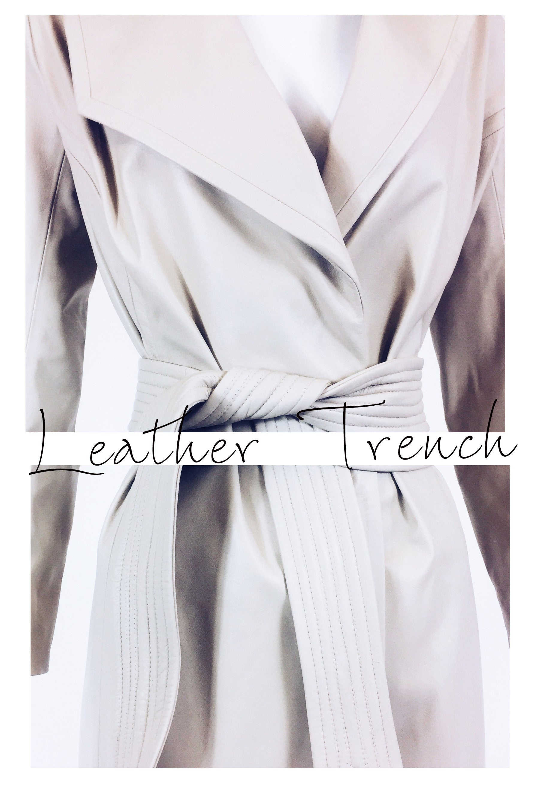 Trouve Leather Coat