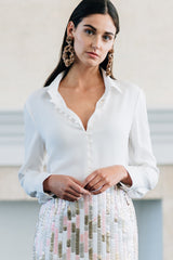 Collared Loop Blouse