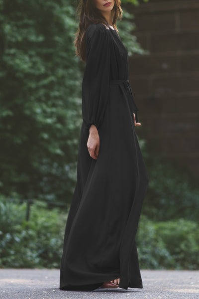 Poet Sleeve Maxi Dress