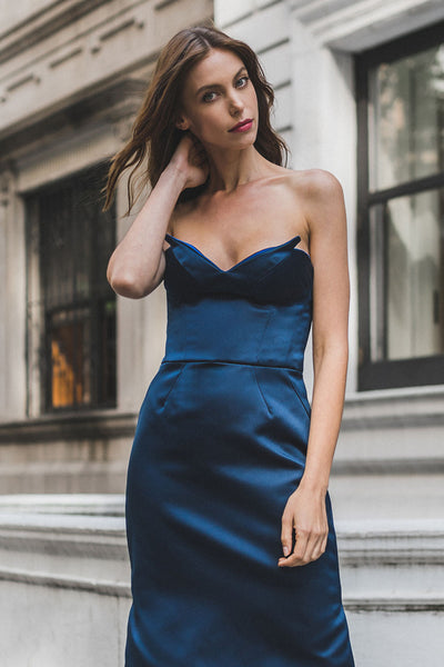 Strapless Bustier Dress