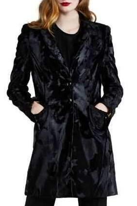 Faux Fur Driving Coat