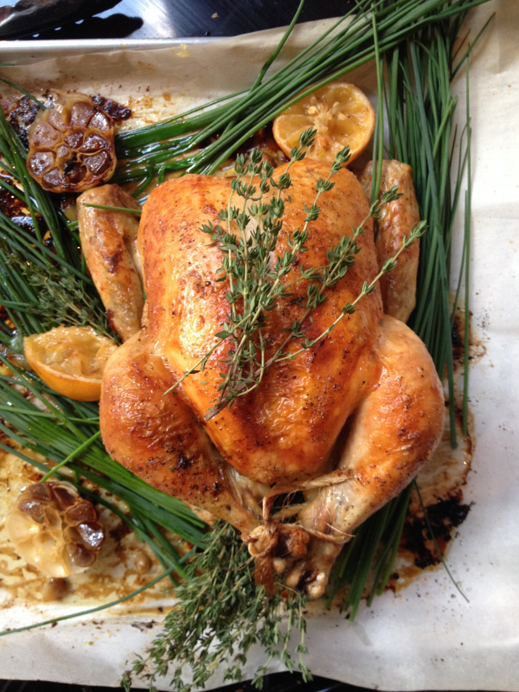 Zoe Ford Weekend Chicken Ready to cook! (Week of September 18th- Red wine vinaigrette with mustard and mushrooms)- $35)