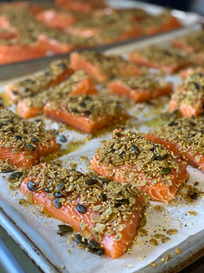 Ready To Cook Marinated Salmon (Week of October 12th- Nori Salmon with honey miso sauce)
