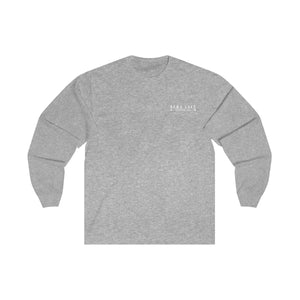 BLO Unisex Long Sleeve Tee - White Design