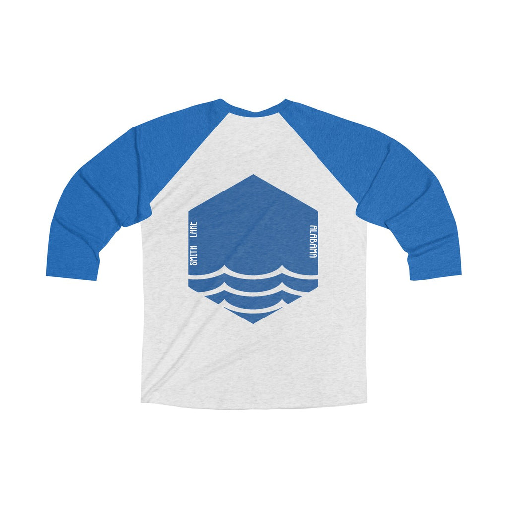Smith Lake Outfitters Tri-Blend 3/4 Raglan Tee