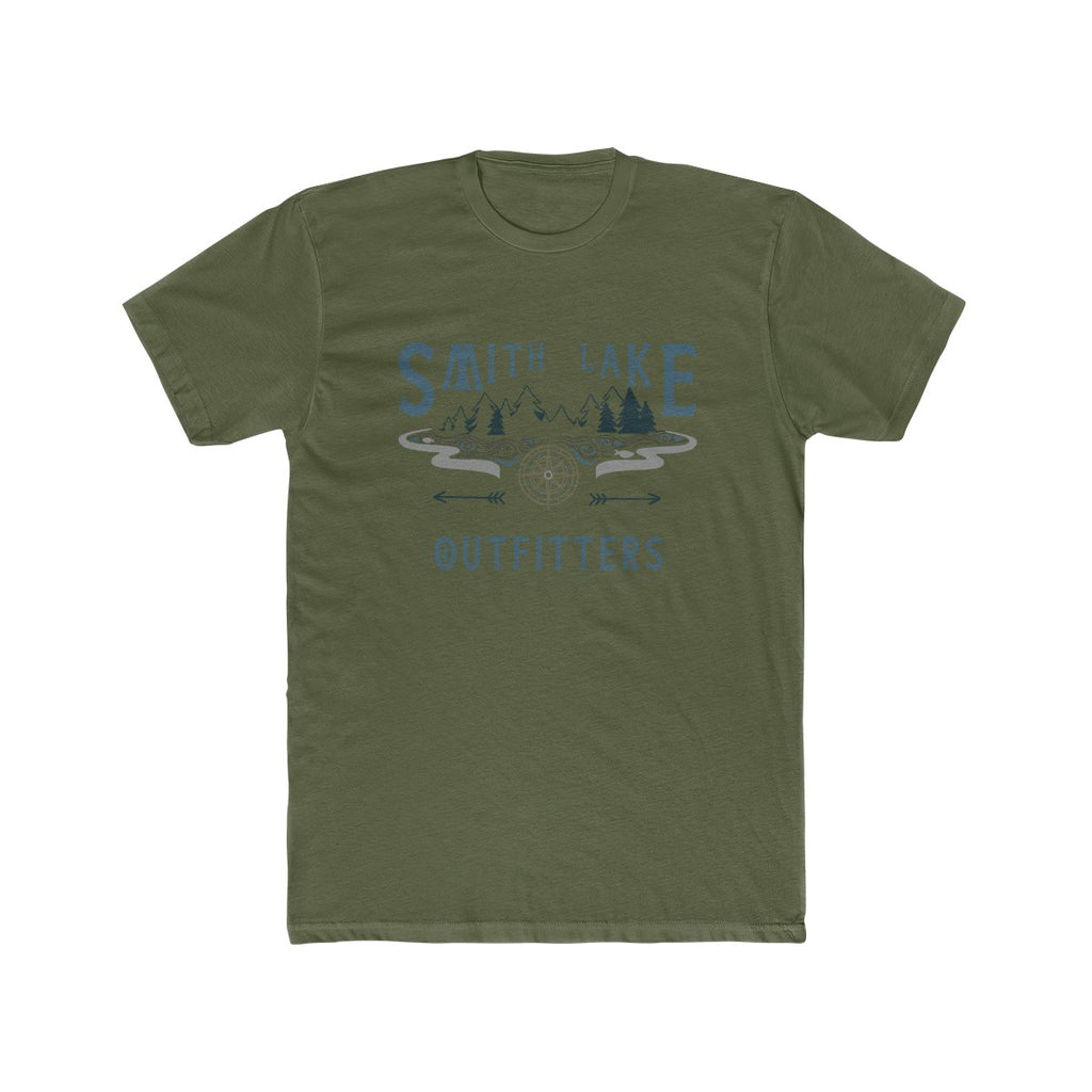 Smith Lake Outfitters Men's Cotton Crew Tee