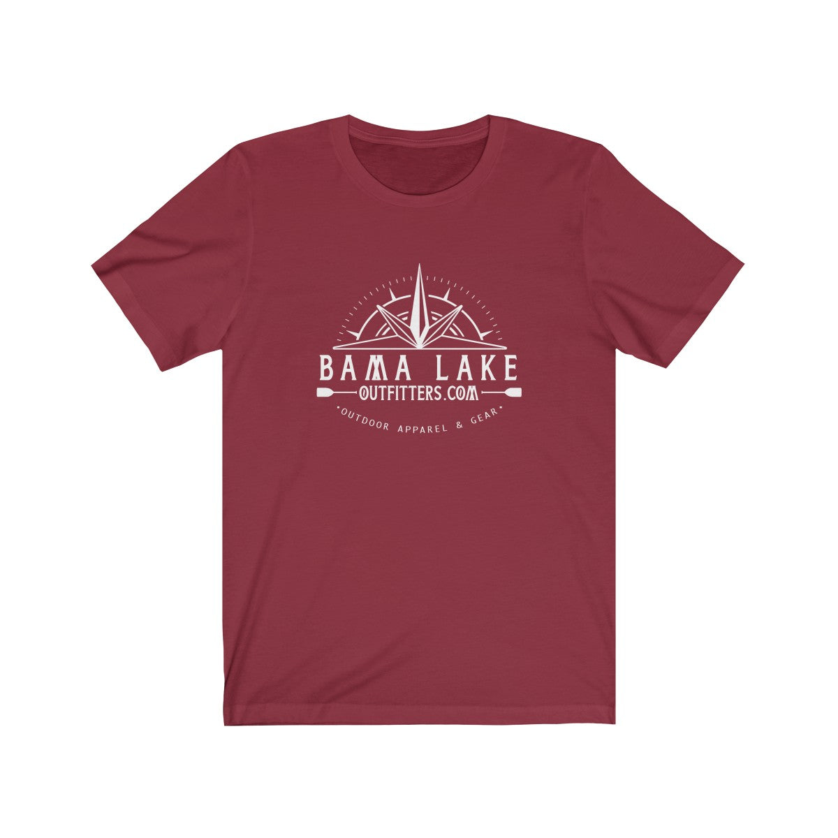 Bama Lake Outfitters Unisex Jersey Short Sleeve Tee
