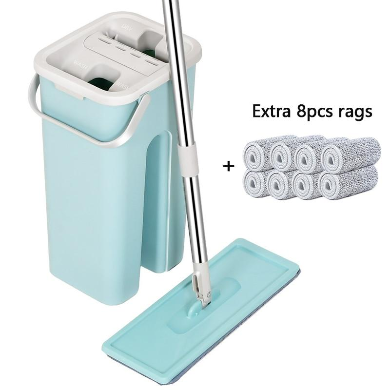 New Generation Hands-Free Self-Cleaning Mop - Activeadultliving