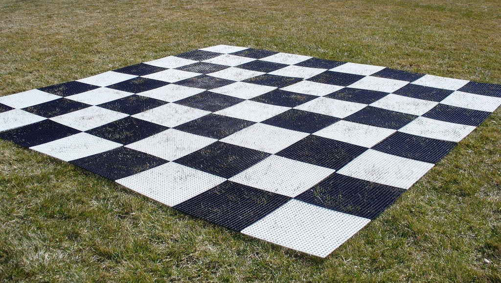 Plastic Garden Chess Board - 10' x 10' board - Activeadultliving