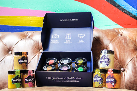 VanDeRo Gourmet Gift box, Proudly Australian Made and Owned