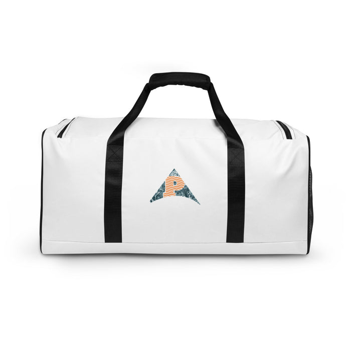 Arrow White Duffle bag