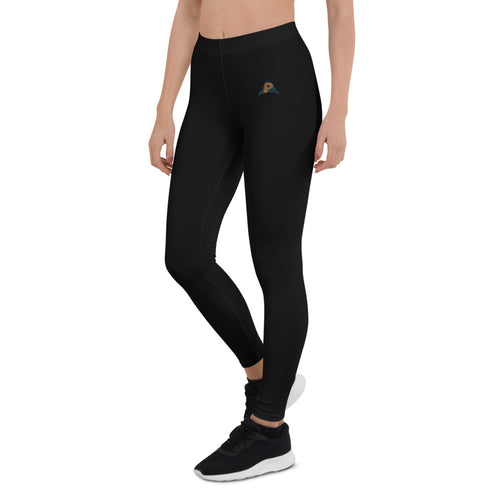 Arrow Black Leggings