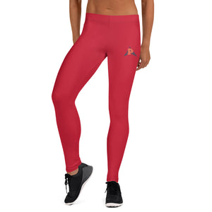 P3 Arrow Bold Red Leggings
