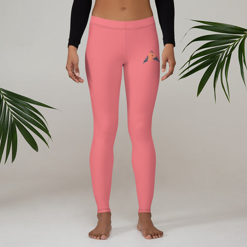 P3 Arrow Coral Reef Leggings