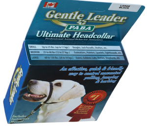 Gentle Leader Headcollar With Metal Buckle (no-slip) (MEDIUM and LARGE) - McCann Professional Dog Trainers