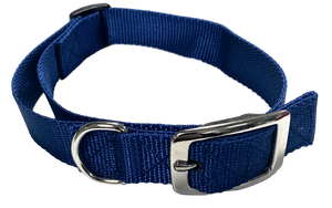 Small Flat Buckle Dog Collar (Adjustable) - McCann Professional Dog Trainers