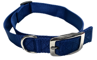 Large Flat Buckle Dog Collar (Adjustable) - McCann Professional Dog Trainers