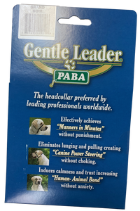 Gentle Leader Headcollar With Metal Buckle (no-slip) (MEDIUM and LARGE) - McCann Dog Trainers
