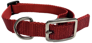 Small Flat Buckle Dog Collar (Adjustable) - McCann Dog Trainers