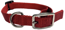 Load image into Gallery viewer, Medium Flat Buckle Dog Collar (Adjustable) - McCann Professional Dog Trainers