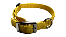 Load image into Gallery viewer, Small Flat Buckle Dog Collar (Adjustable) - McCann Professional Dog Trainers